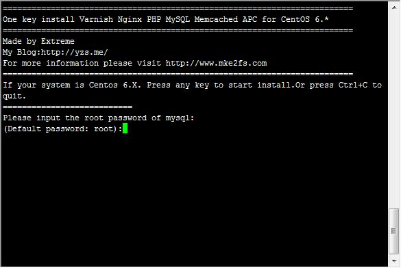CentOS6 Install